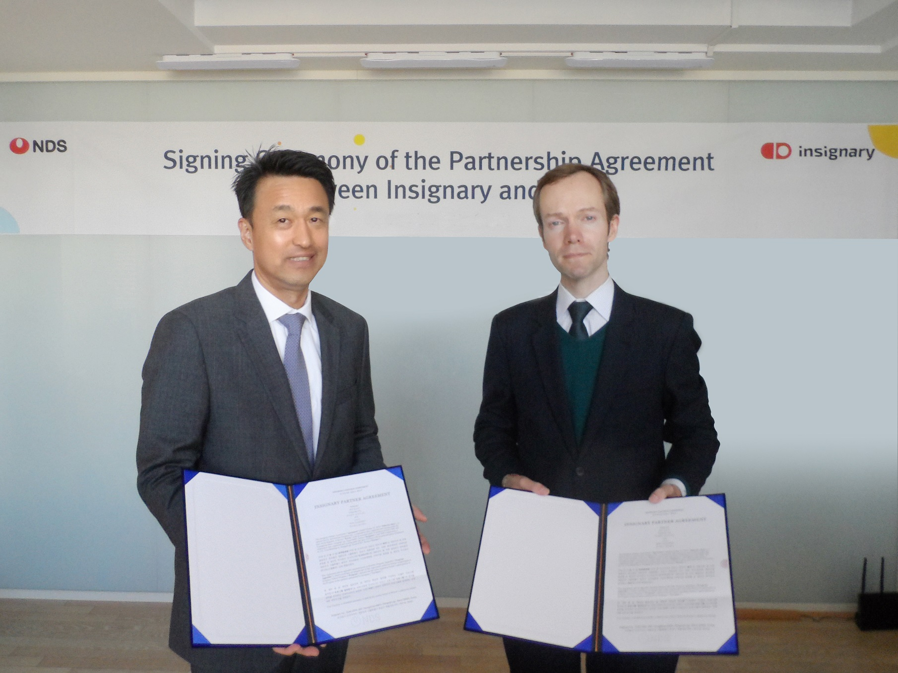 Insignary & NDS signing ceremony